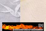 Sprinklergewebe permanent schwer entflammbar