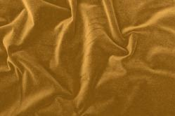 Baumwollsamt - Gold/Beige