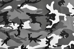 Tarnstoff Camouflage - Schneetarn