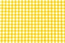 Vichy-Karo Allgäu 4 mm - reine Baumwolle - Gelb