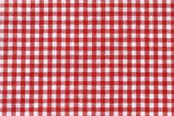 Vichy-Karo Allgäu 4 mm - reine Baumwolle - Rot