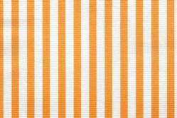 Sonnenschutz-Gewebe Streifen - 280 cm breit - Sonnengelb/Weiß