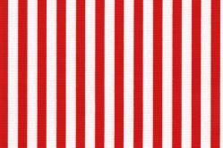 Sonnenschutz-Gewebe Streifen - 280 cm breit - Rot/Weiß