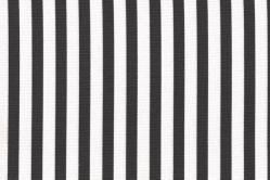 Sonnenschutz-Gewebe Streifen - 280 cm breit - Grau/Weiß