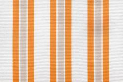 Sonnenschutz-Gewebe Multi-Streifen - 280 cm breit - Sonnengelb/Weiß