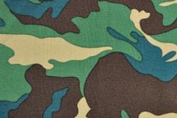 Universalstoff leicht - Camouflage - Grün/Braun