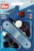 Jeansknöpfe 17 mm - 8 Stück