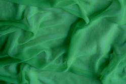 Chiffon Stoff - Grün