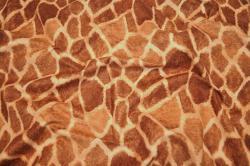 Microfaser Tierimitat - Giraffe