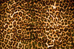 Microfaser Tierimitat - Leopard
