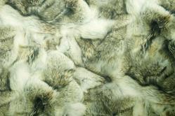 Microfaser Tierimitat - Wolfsfell