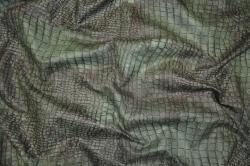 Microfaser Tierimitat - Krokodil grün