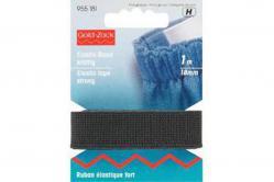 Elastic-Band 18mm schwarz - 1m