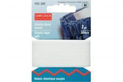 Elastic-Band 30mm weiß - 1m