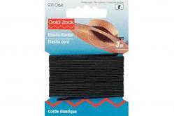 Elastic-Kordel schwarz 3m
