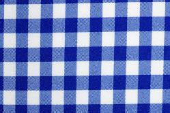 Universalstoff Vichykaro 1 cm - Blau