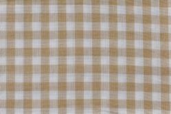 Vichy-Karo Tirol 4mm - beige