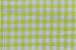 Vichy-Karo Allgäu 8 mm - reine Baumwolle - Hellgrün