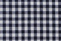 Vichy-Karo Allgäu 8 mm - reine Baumwolle - Nachtblau