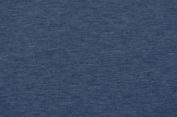 Strickbündchen - glatt - Jeansblau