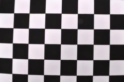 Baumwollstoff Schachbrett