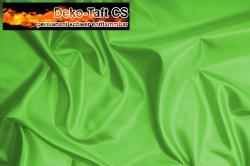 Deko-Taft - permanent schwer entflammbar - 310 cm - Hellgrün