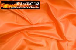 Deko-Taft - permanent schwer entflammbar - 310 cm - Orange