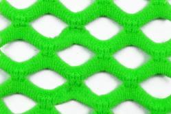 Netzstoff - Super-Elastik - Neon-Grün