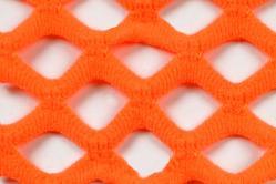 Netzstoff - Super-Elastik - Neon-Orange
