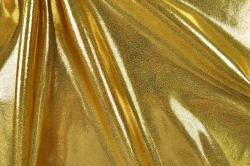 Tanzkleiderstoff Metallic - Gold
