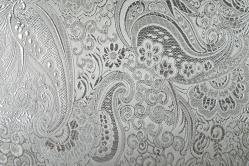 Brokat Maharadscha - Silber