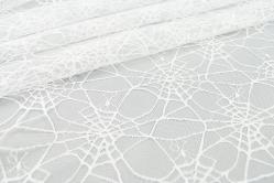 Tüll Spinnennetz - Weiß