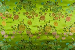 China Seidenimitat Blume - Hellgrün