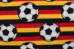 Fußball-Baumwollstoff - Deutschlandfarben