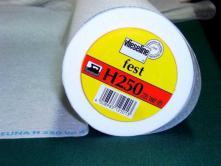 Einbügel-Vlieseline H250 stark - Weiß
