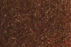 25 Meter Klettband - 20 mm breit - zum Annähen - Braun