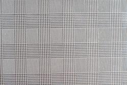 Leder Imitat - Metallic Quadrat