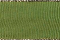 Stoffband Metallkante 40mm - 25m Rolle - Hellgrün