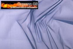 Organza - permanent schwer entflammbar - 300 cm - Blau