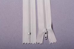 Kunststoff-Reißverschluss nicht teilbar - 18 cm - Natur