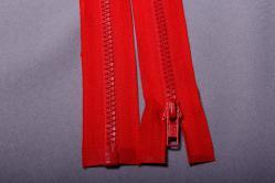 Kunststoff-Reißverschluss teilbar - 35 cm - Rot