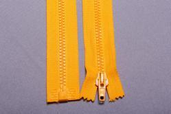 Kunststoff-Reißverschluss teilbar - 30 cm - Gelb