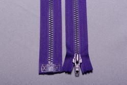 Kunststoff-Reißverschluss teilbar - 30 cm - Violett