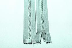 Kunststoff-Reißverschluss teilbar - 80 cm - Minze