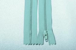 Kunststoff-Reißverschluss nicht teilbar - 18 cm - Minze