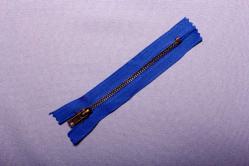 Metall-Reißverschluss nicht teilbar - 10 cm - brüniert - Royal