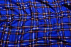 Schottenkaro Highlands - Blau