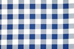 Universalstoff Vichykaro 4 cm - Blau
