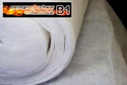 Wattevlies 1 cm TREVIRA CS - permanent schwer entflammbar