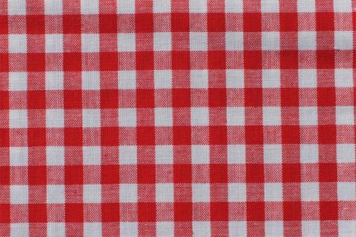 Vichy-Karo Allgäu 8 mm - reine Baumwolle - Rot Rot